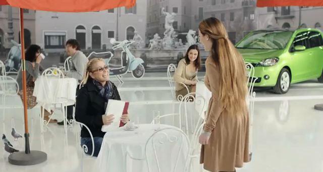 Anastacia macht Werbung für den Skoda Citigo