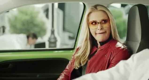 Citigo Werbung mit Anastacia