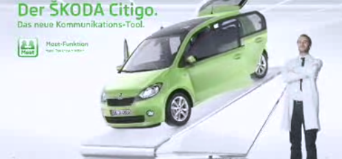 die neue skoda citigo werbung. Black Bedroom Furniture Sets. Home Design Ideas