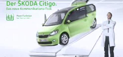 Die neue Skoda Citigo Werbung
