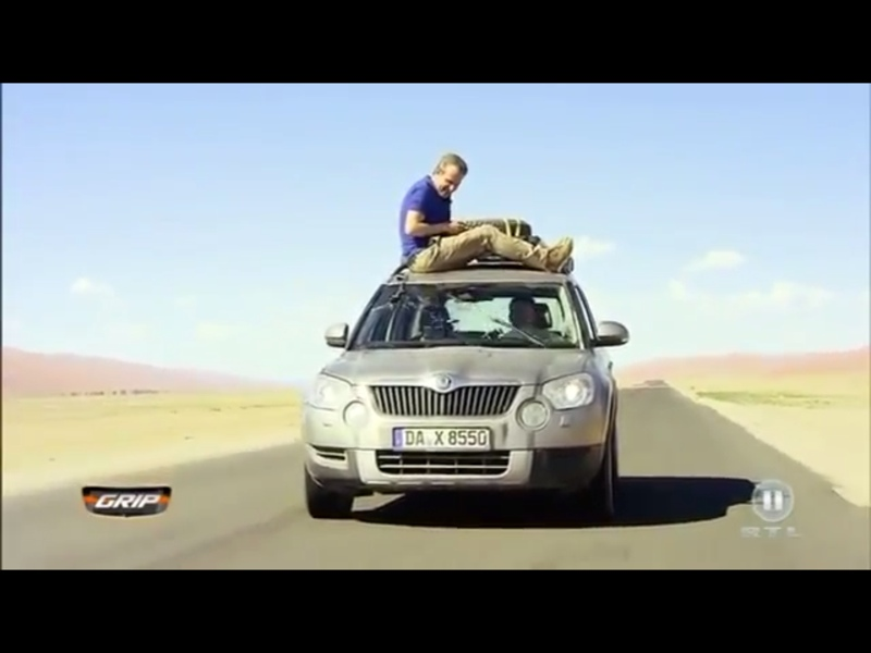 GRIP testet den Skoda Yeti in Namibia [Video]