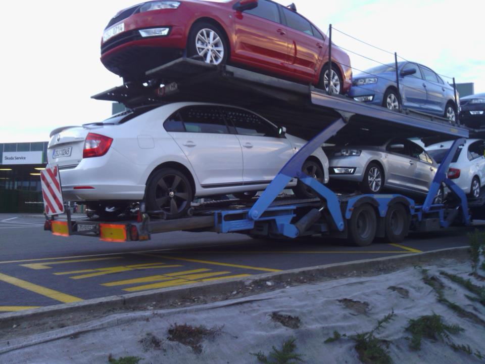Ist das schon ein Skoda Rapid Monte Carlo? UPDATE: Nein, ein Sport Design Paket