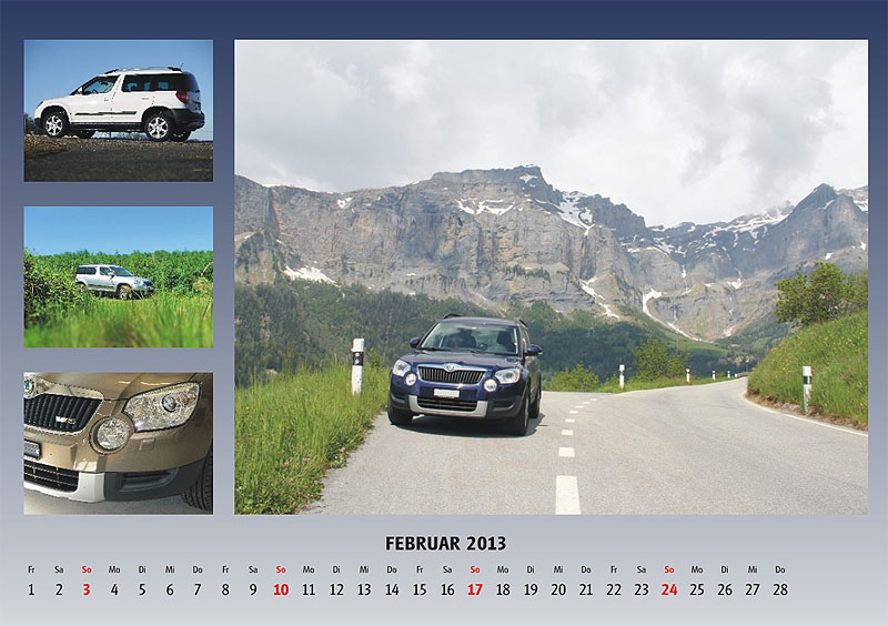 Yeti Kalender 2013