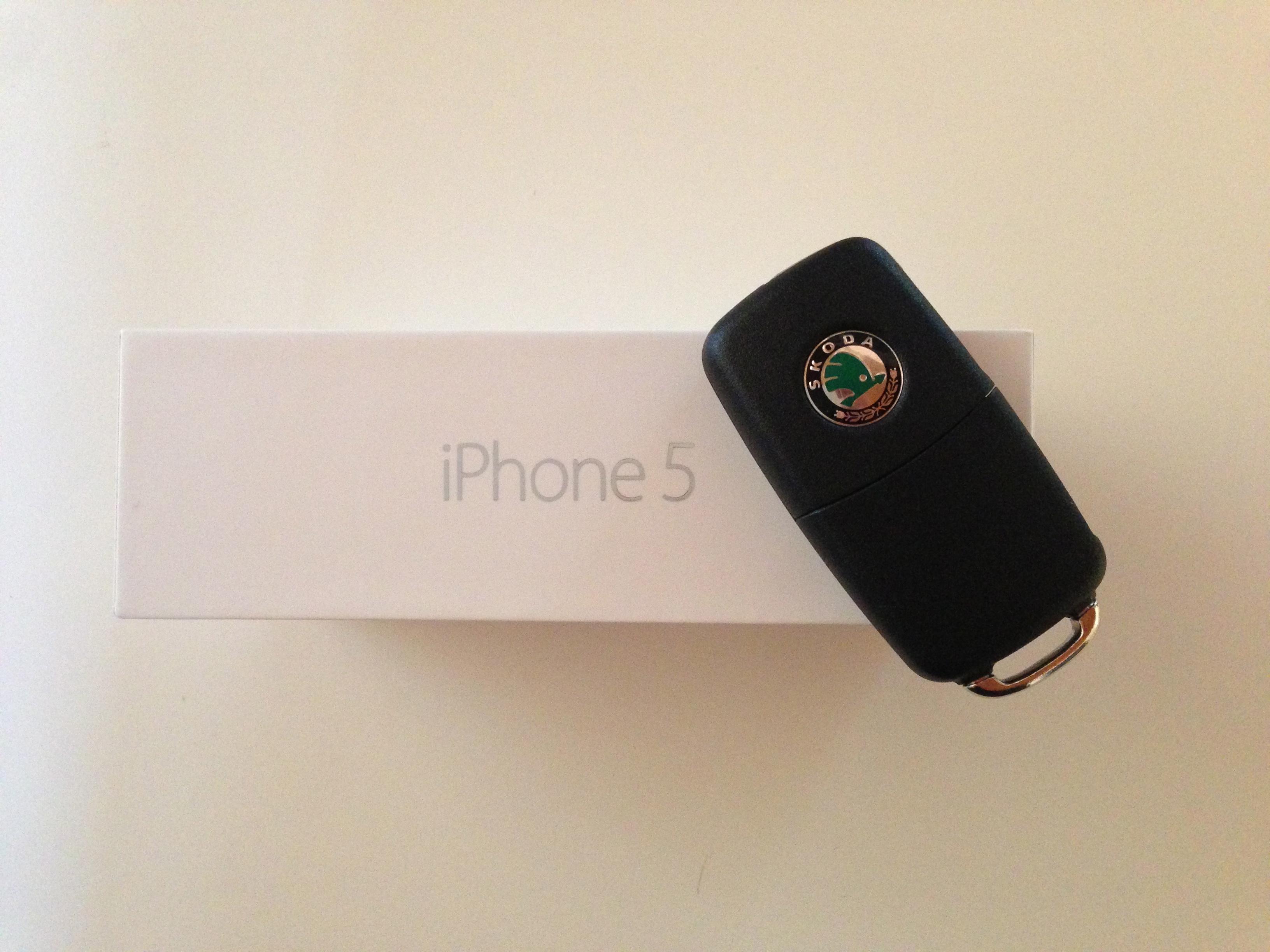 Erfahrungsbericht: iPhone 5 mit iOS 6 im Skoda