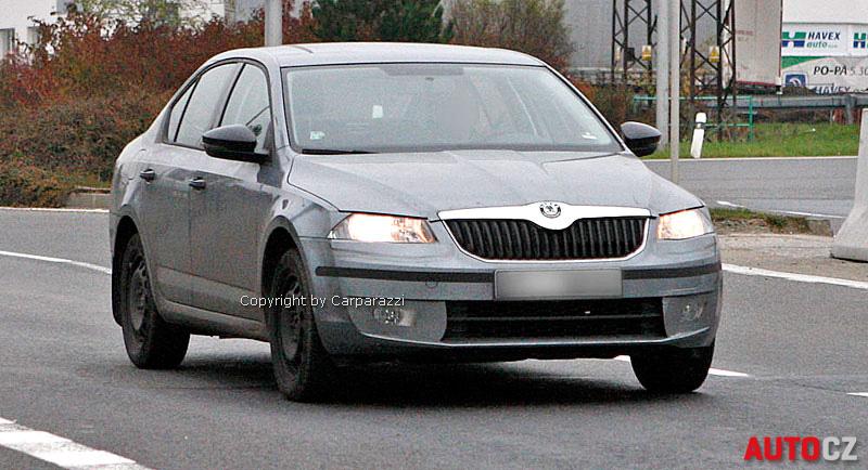 Octavia 3 mit dezenter Tarnung – Offizielle Fotos schon im November?