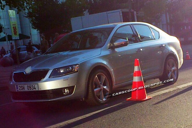 Skoda Octavia III ungetarnt in Chile