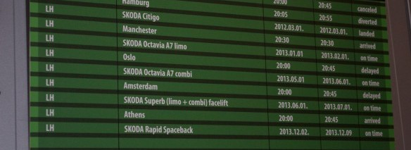 Skoda Fahrplan 2013
