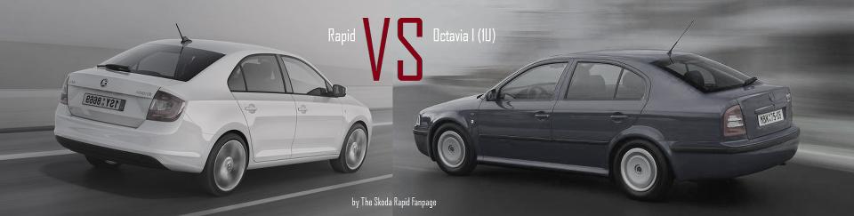 Der ultimative Generationenvergleich – Skoda Rapid gegen Octavia I
