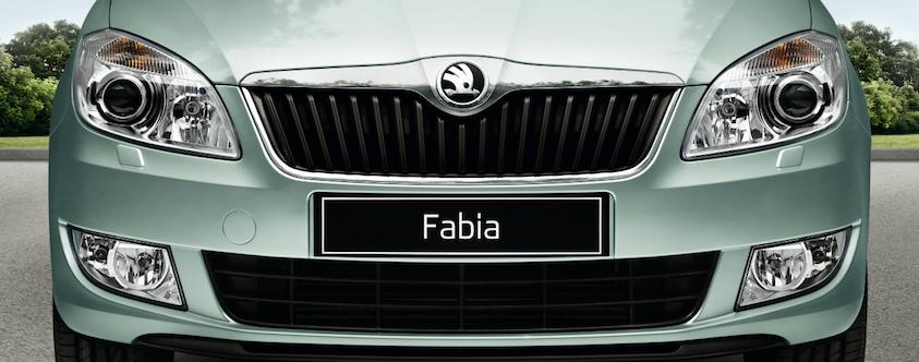 Fabia und Roomster mit neuem Logo