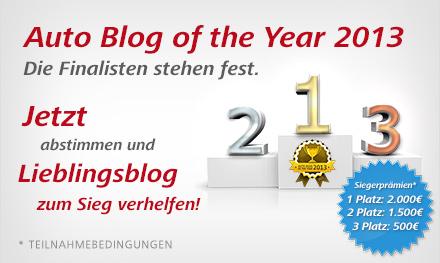 """Skoda-Portal.de ist für den """"Auto Blog of the Year 2013"""" nominiert"""