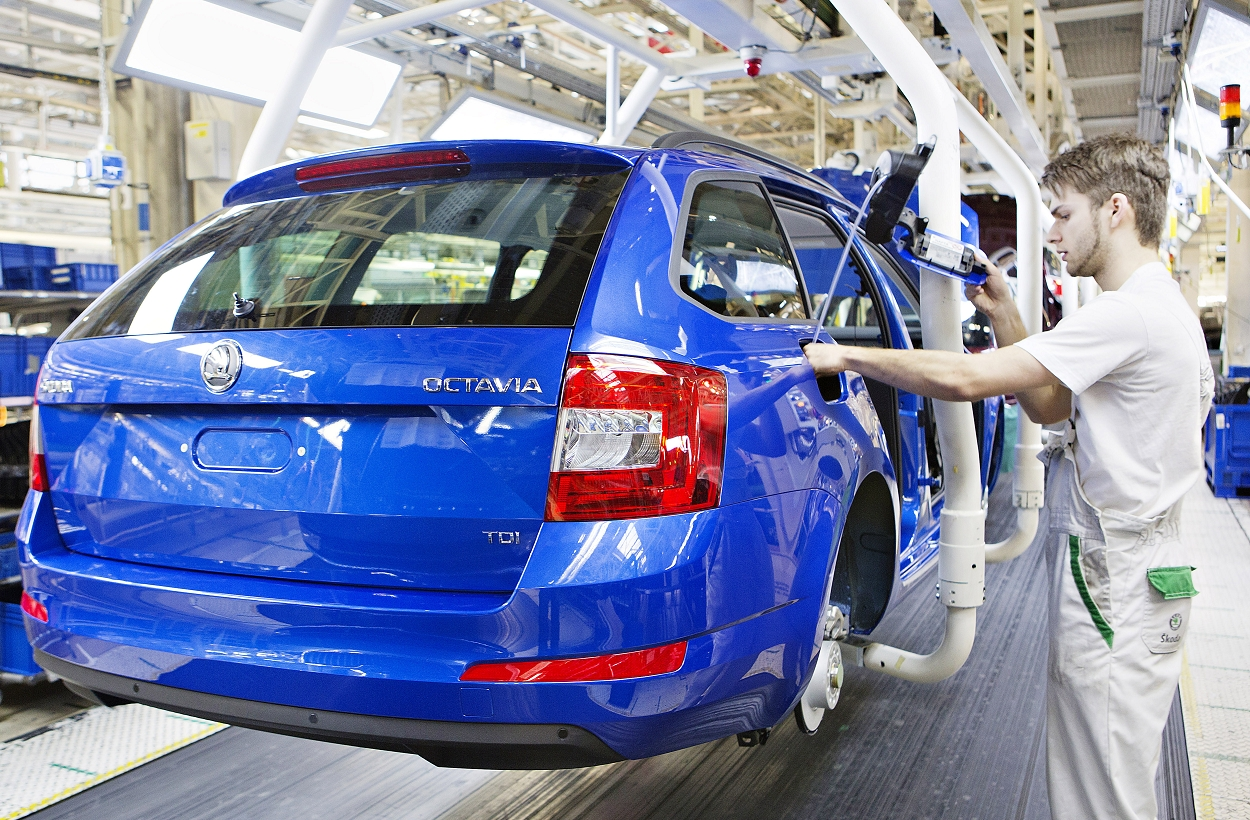 Skoda startet Produktion des Octavia Combi