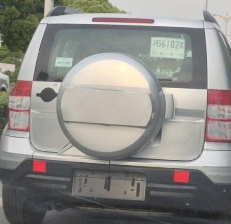 Skoda Yeti Facelift 2014 hinten