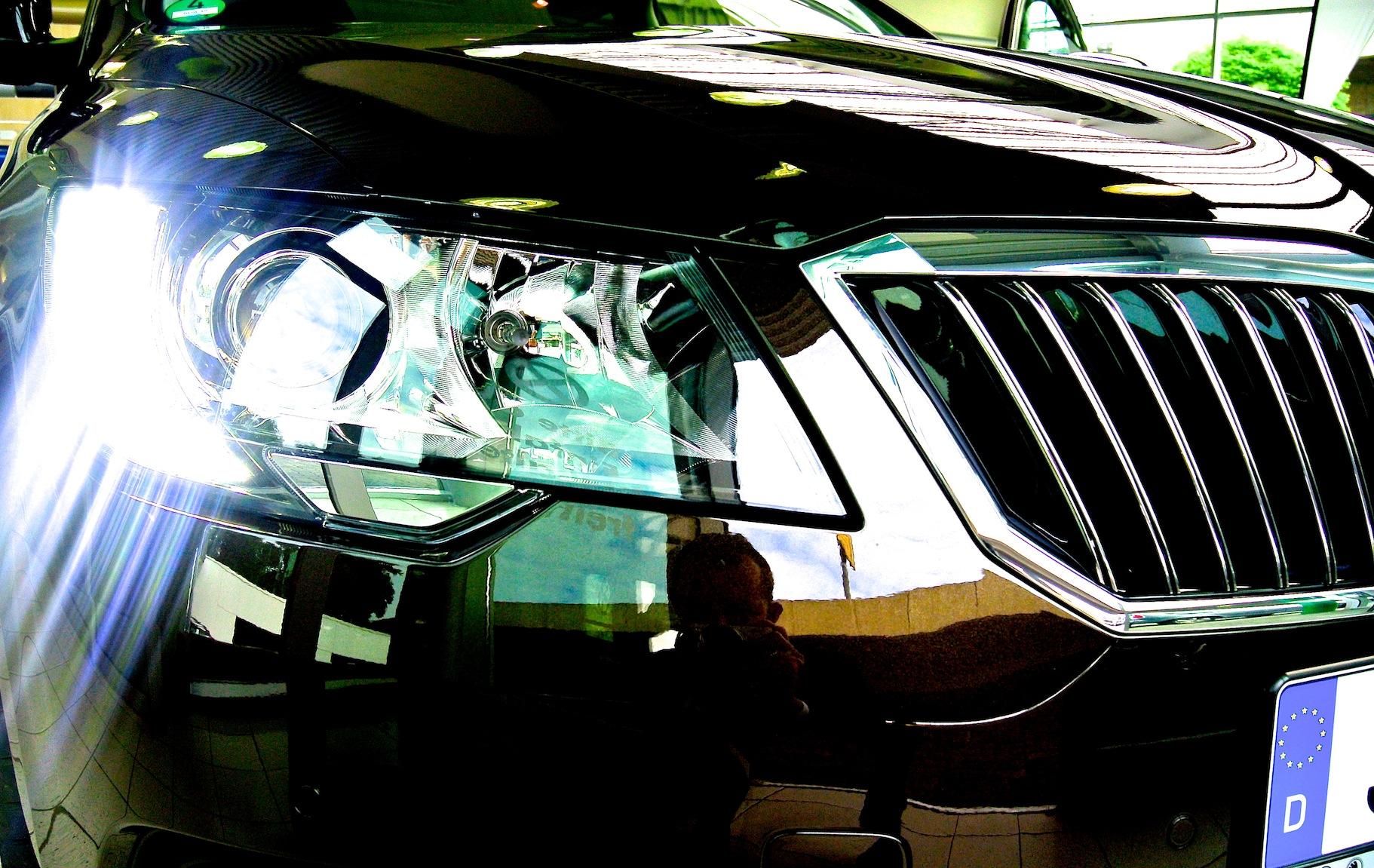 Skoda Superb Combi Facelift L&K