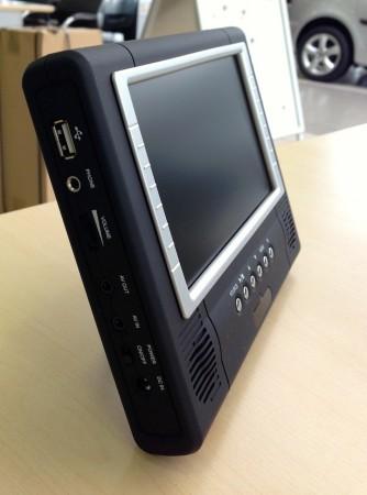 Skoda DVD Player von vorne