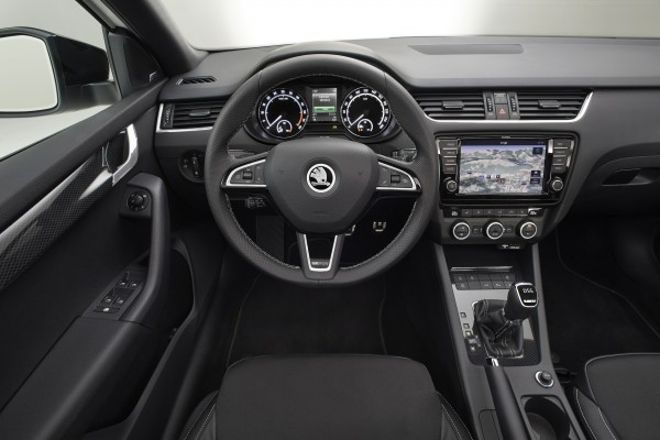 2013 SKODA Octavia RS - Interior 002