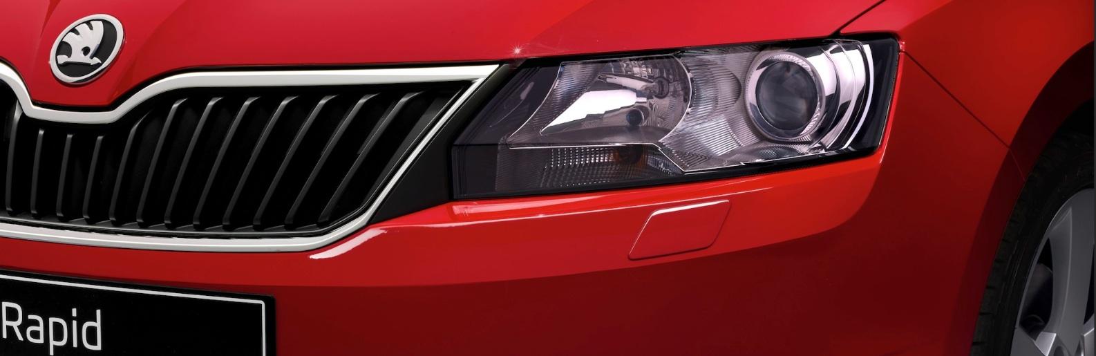 Rapid kommt im Modelljahr 2014 mit Xenon und neuem Motor