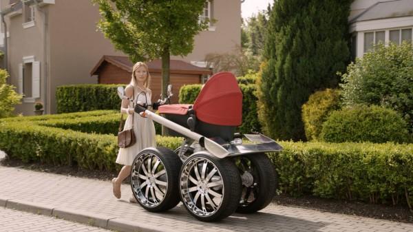 Skoda Octavia RS Kinderwagen
