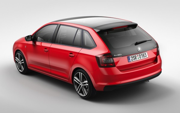 Skoda Rapid Spaceback 2013 2014
