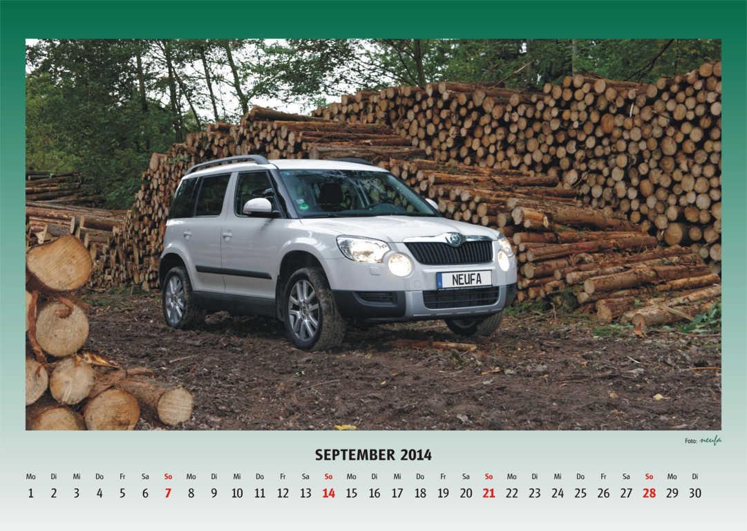 Yeti Kalender 2014