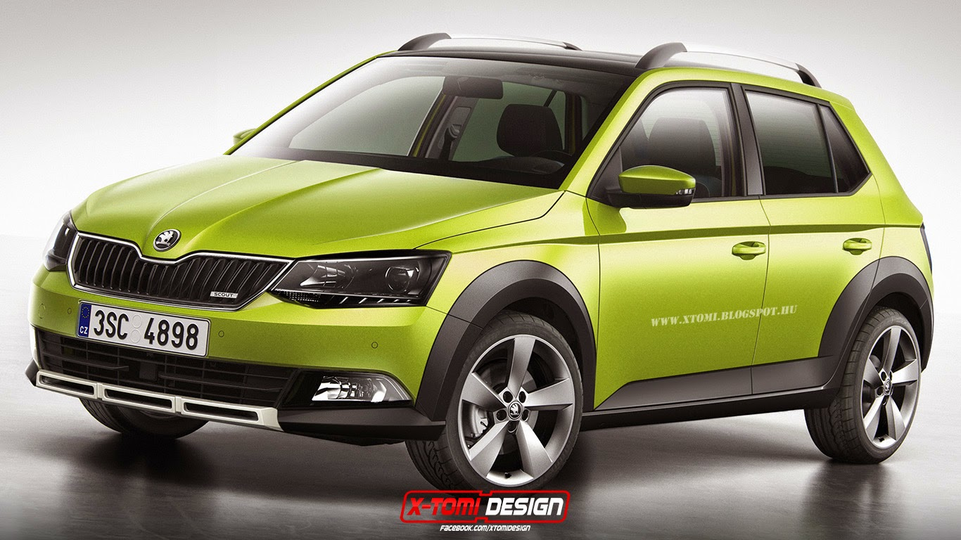 der neue skoda fabia combi 2015 autos post. Black Bedroom Furniture Sets. Home Design Ideas