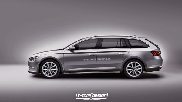 Skoda Superb Scout side2