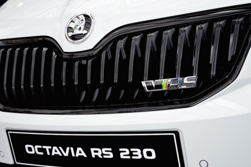 RS 230 Front Logo