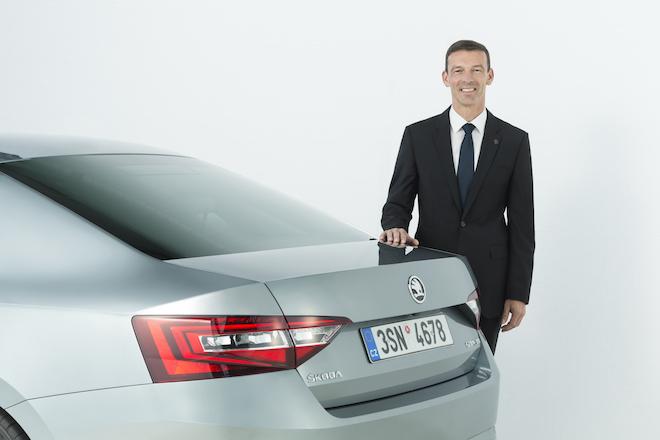 Werner Eichhorn - Skoda Vorstand Vertrieb und Marketing / Foto: Skoda