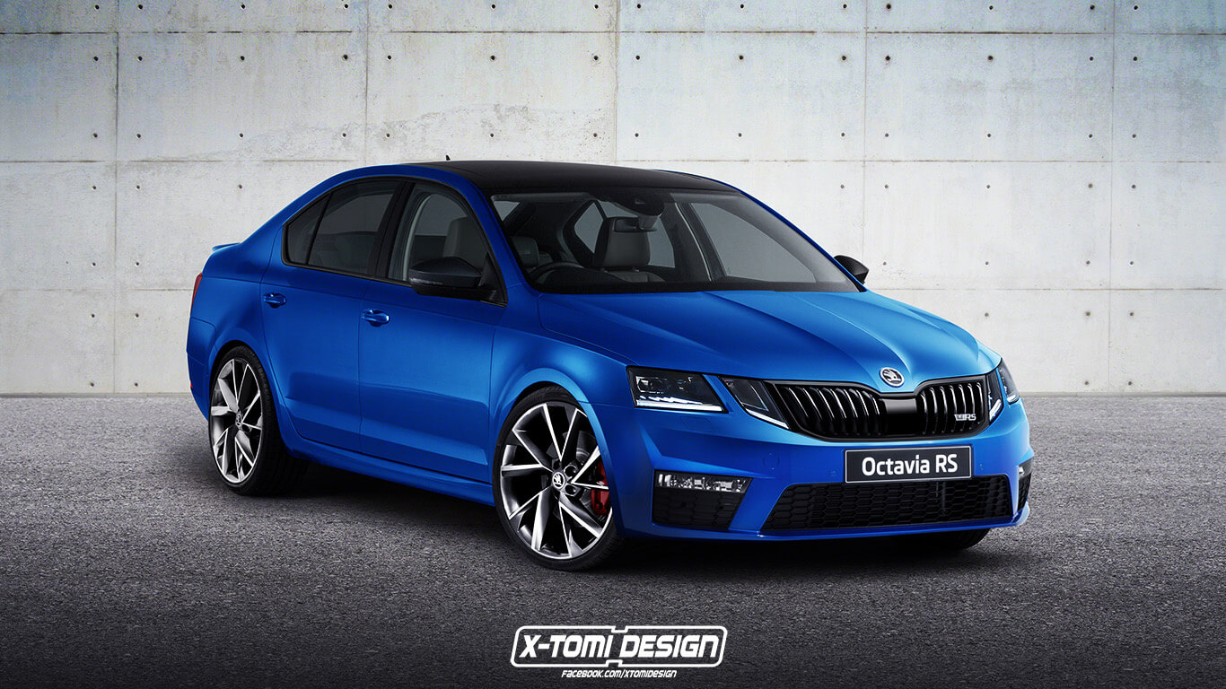 skoda-octavia-rs Facelift 2017