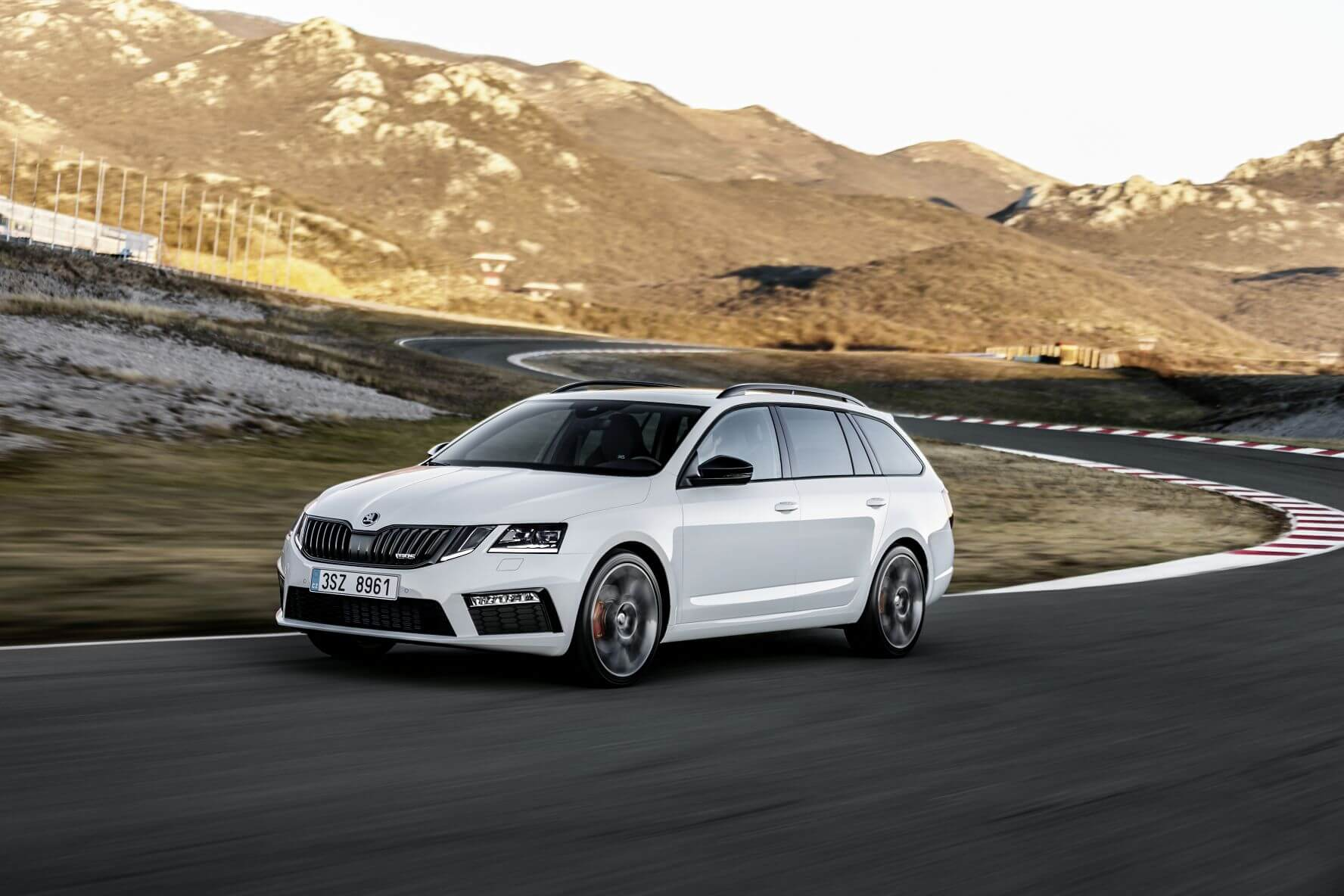 Octavia RS Facelift mit mehr Power
