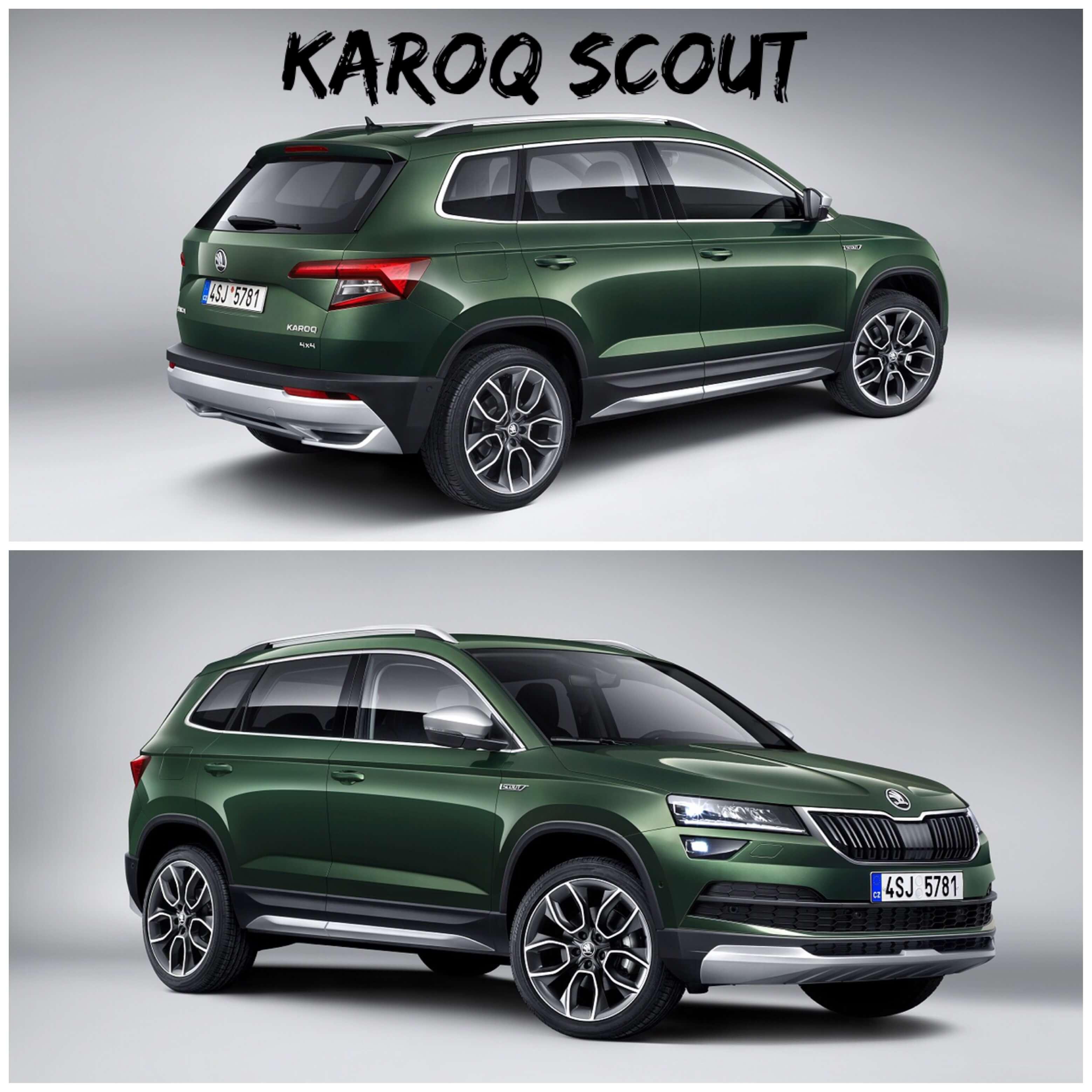KAROQ SCOUT kommt im Offroad-Look und mit zwei neuen Motoren