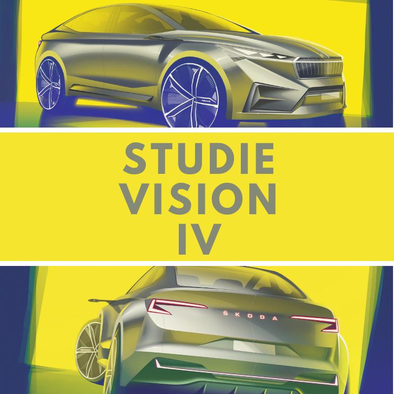 Die ersten Zeichnungen des Showcar VISION iV