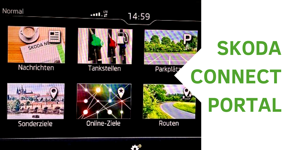 Skoda Connect Portal